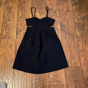 Urban Outfitters Sparkle & Fede Black Dress